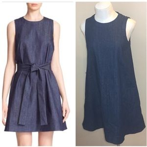 Kate Spade Denim Fit and Flare Dress Sz S